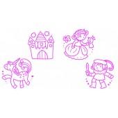 Babystempels - Prinsessen