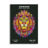 Aniwood - Leeuw - 100 stukjes