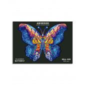 Aniwood - Vlinder - 200 stukjes
