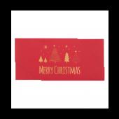 Voucherenvelop - Merry Christmas - 23 x 11 cm