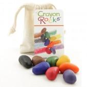Crayon Rocks - 8 Kleuren - Katoenen Zakje