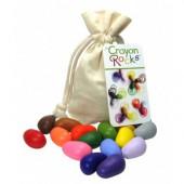 Crayon Rocks - 16 Kleuren - Katoenen Zakje