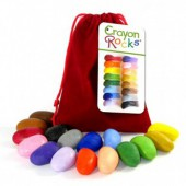 Crayon Rocks - 16 kleuren - Rood Velvet Zakje