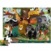 Vloerpuzzel - Jungle Vrienden - 36 stukken