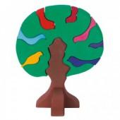 Vogelboom - Donkergroen