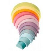 Regenboog - Groot (12-delig) - Pastel