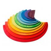 Halve Cirkels - 11 stuks - Regenboog