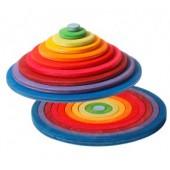 Concentrische Cirkels en Ringen - 20 stuks
