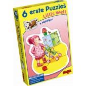 Zes Eerste Puzzels - Lilli's Wereld