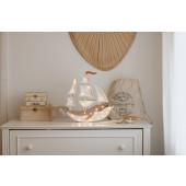 Lamp - Schip - Piraat Bruin
