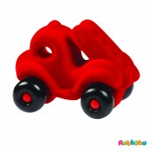 Brandweerauto - The Little Fireman Rubba Engine - Rood
