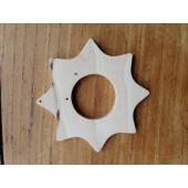 Houten Ster - 10 cm