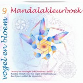 Mandala Kleurboek 9 - Vogel en Bloem