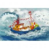 Stoomboot met Sinterklaas