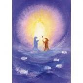 Kaart - Jozef En Maria In Het Licht Van De Ster