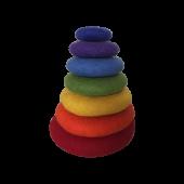 Stapelstenen - Regenboogset - 7 stuks