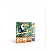 Poppik - My Sticker Cards - Tropical