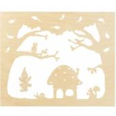 Staande Decoratie Herfst Groot