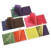 Vliegerpapier - 100 vellen op blok - 16 x 16 cm