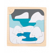 Vrieskou en Gloeiend Heet (Freezing and Scorching) - 33-delige puzzel - George Luck