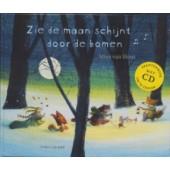 Zie De Maan Schijnt Door De Bomen -  Kartonboek